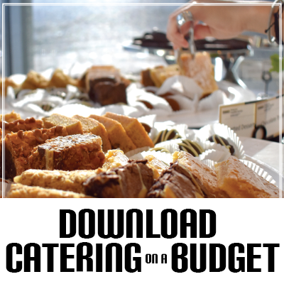 Download the Catering on a Budget Menu